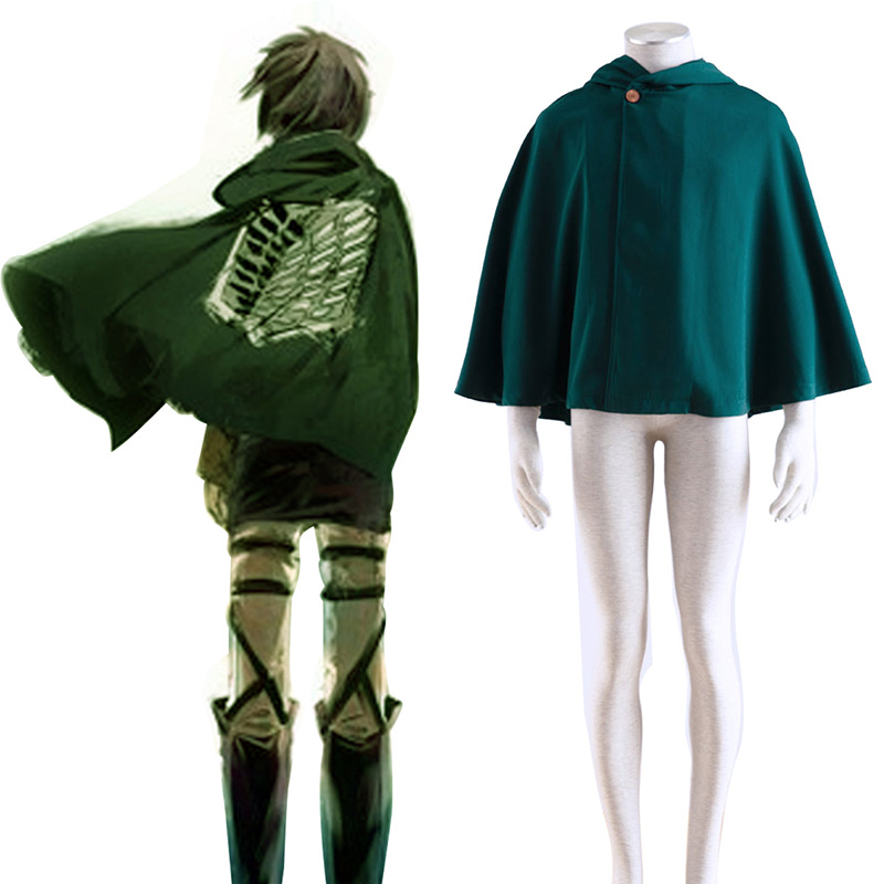 Attack on Titan Survey Corps Cloak 2 Cosplay Costumes Canada