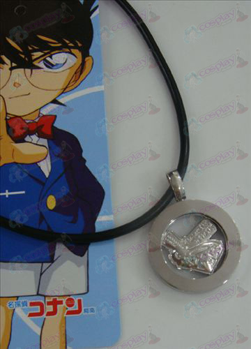 14th Anniversary of white steel necklace Conan