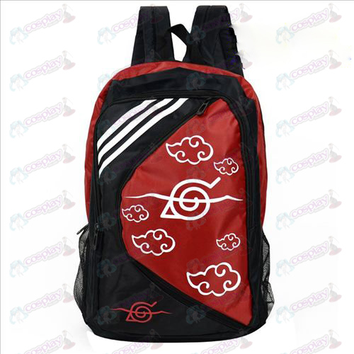 1225 Naruto Red Cloud Backpack