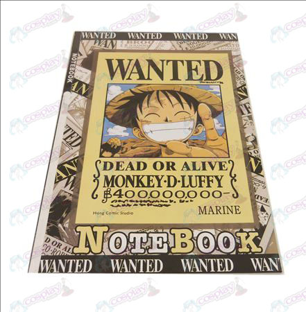 Luffy notebook