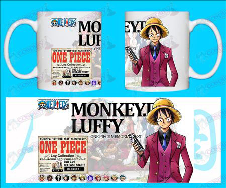 H-One Piece Accessories Mugs MONkEY-D