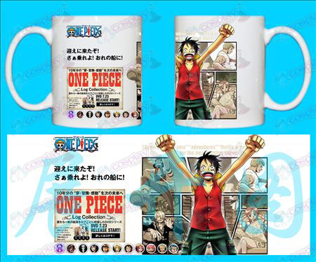 H-One Piece Accessories Mugs LUFFY