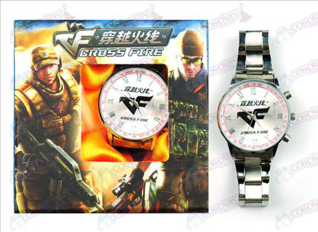 CrossFire Accessories logo Watch (Red)