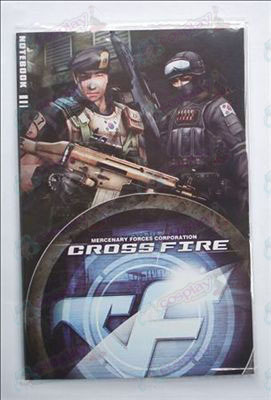 CrossFire Accessories Notebook
