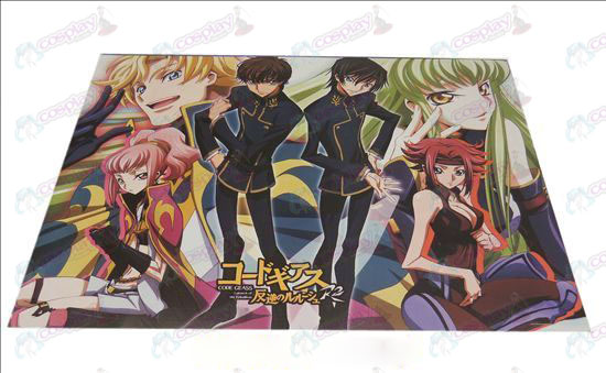 D42 * 29 Lelouch embossed posters (8)