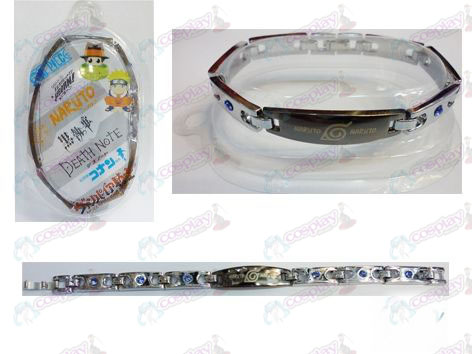 Naruto stainless steel diamond bracelet