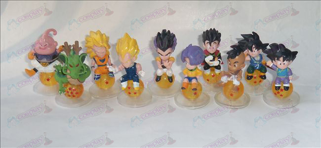 10 Dragon Ball Accessories sit bead doll