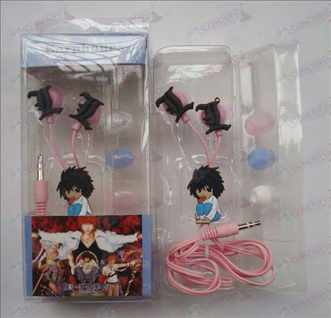 Death Note Accessories Headphones (L squatting)