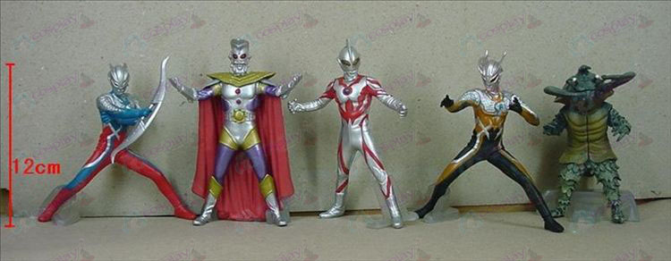 5 Generation 5 models Superman Ultraman Accessories Base (506)