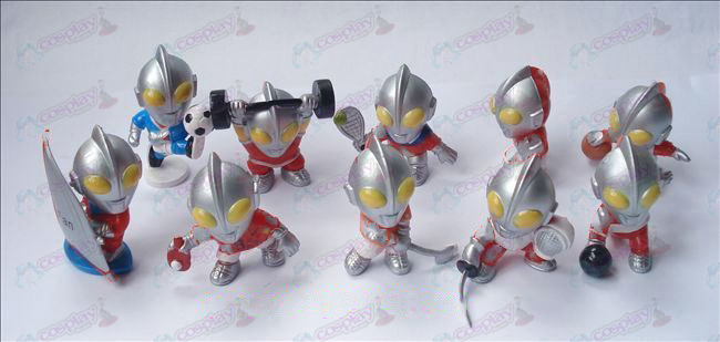 10 Superman Ultraman Accessories Doll