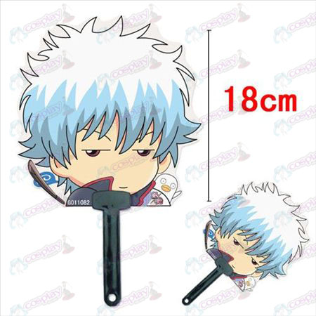 Gin Tama Accessories Sakata silver Siyu Yan cool fan