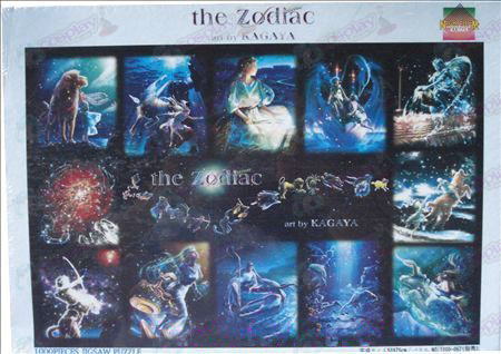 Twelve constellations Accessories puzzle 1000-067