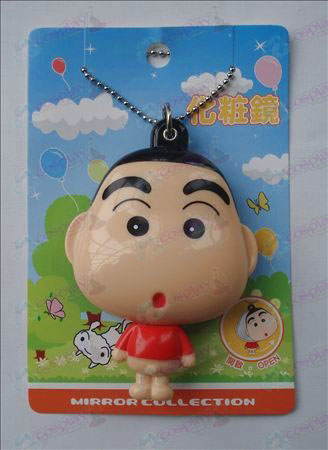 Mirror (Crayon Shin-chan Accessories) Red