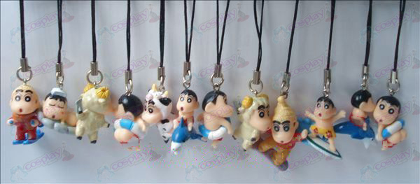 Crayon Shin-chan Accessories Doll Machine Rope (12 / set)