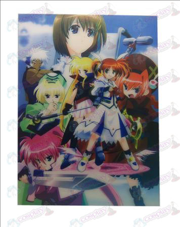 Stereoscopic prints (Magical Girl Accessories) Zhang