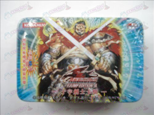 Genuine Tin Yu-Gi-Oh! Accessories Card (cross swords fujiki group)