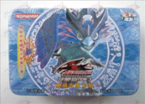 Genuine Tin Yu-Gi-Oh! Accessories Card (Black Feather wind card group)