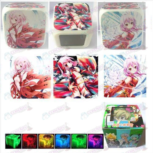 Guilty Crown Accessories3 surface color colorful alarm clock