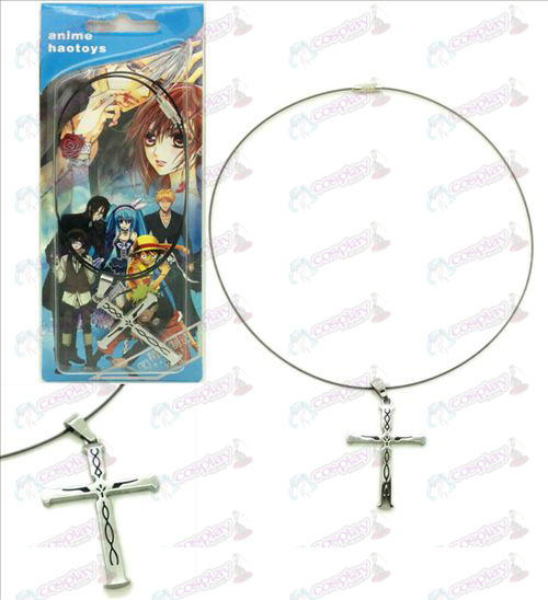 Sin cross necklace crown
