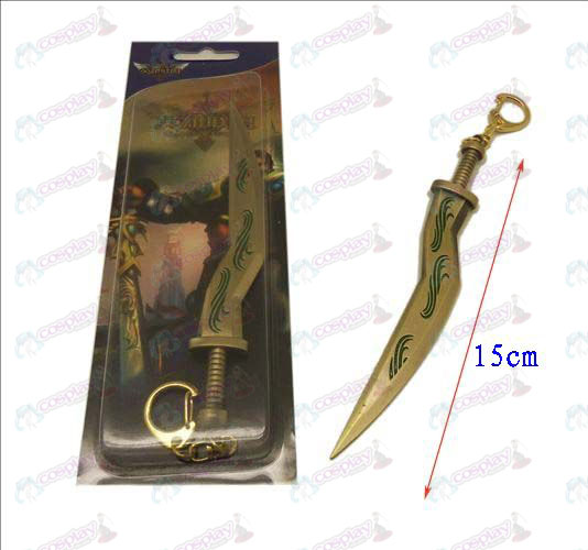 League of Legends Accessories knife buckle 11 (copper)
