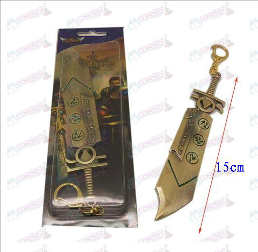 League of Legends Accessories knife buckle 8 (Bronze)