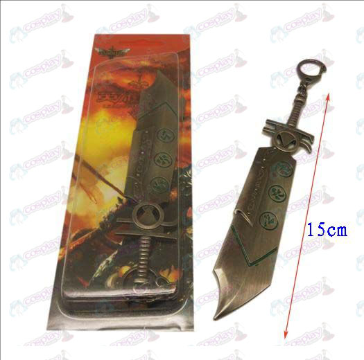 League of Legends Accessories knife buckle 8 (gun color)