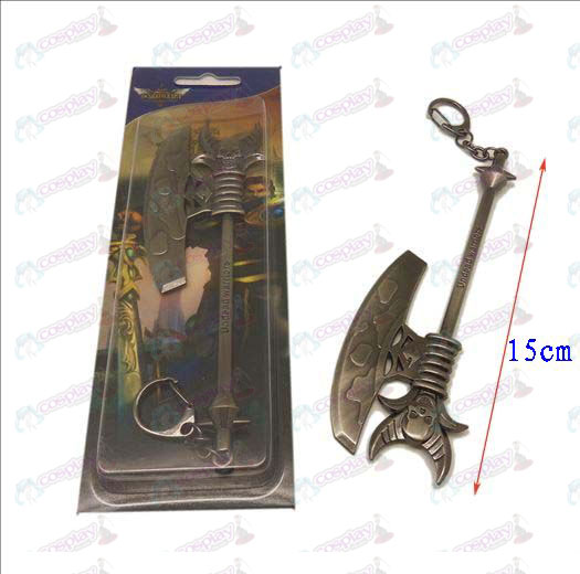 League of Legends Accessories knife buckle 5 (gun color)