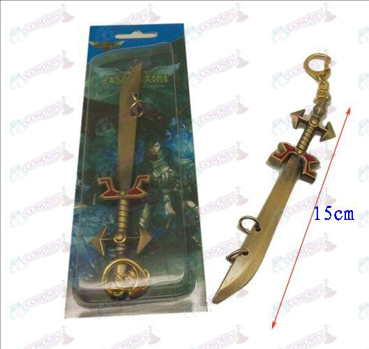 League of Legends Accessories knife buckle 4 (copper)