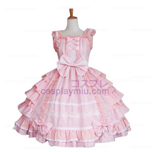 Bow Decoration Sweet Lolita Cosplay Dress
