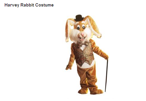 Harvey Rabbit Costume