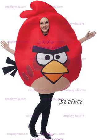 Angry Birds Red, Adult One Size