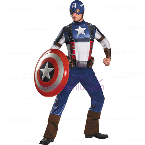 Captain America Movie - Captain America Deluxe Adult Costume