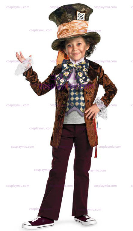 Mad Hatter Movie Deluxe Child Costume