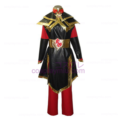 Avatar The Last Airbender Princess Azula Cosplay Costume