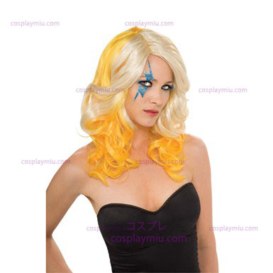 Lady Gaga Blonde And Yellow Wig