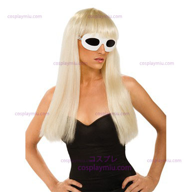Lady Gaga Straight Wig - With Bangs