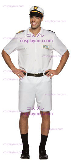 Love Boat Captain Stubing Adult Costume