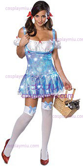 Secret Wishes Wizard Of Oz Sparkle Dorothy Adult Costume