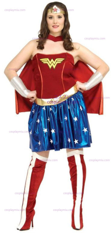 Wonder Woman Plus Size Adult Costume