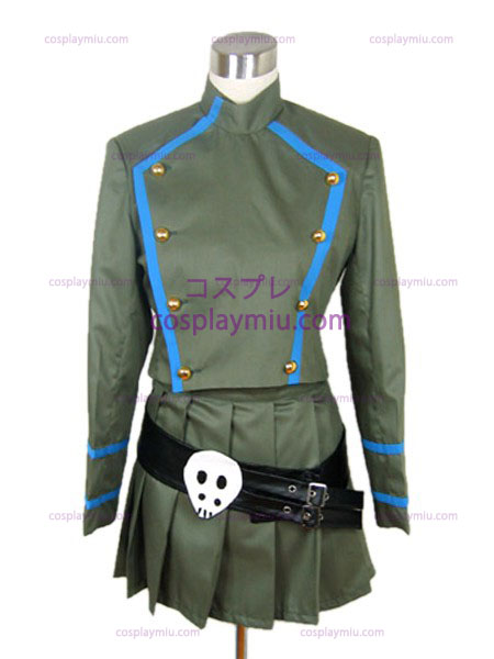 Skull Hitman REBORN Chrome tutor uniform costume