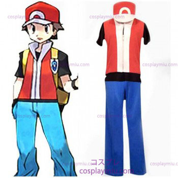 Pokemon Ash Ketchum Men's Cosplay Costume