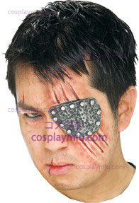 Eye Patch Metal Prostetic
