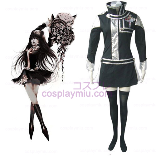 D.Gray Man Lenalee Lee Cosplay Costumes