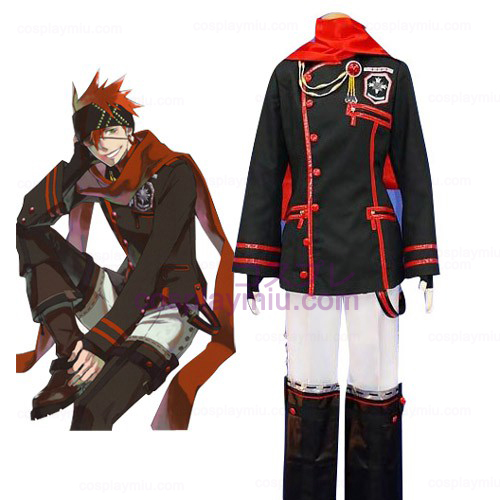 D.Gray Man Lavi Cosplay Costume