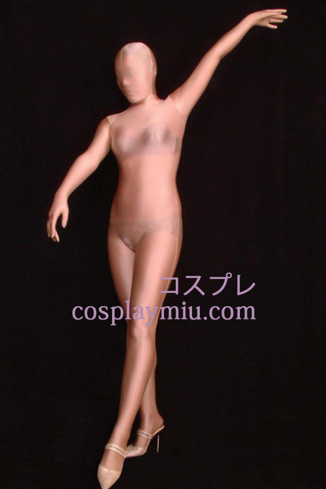 Nude Skin Color Semi-transparent Full Body Unisex Zentai Suit