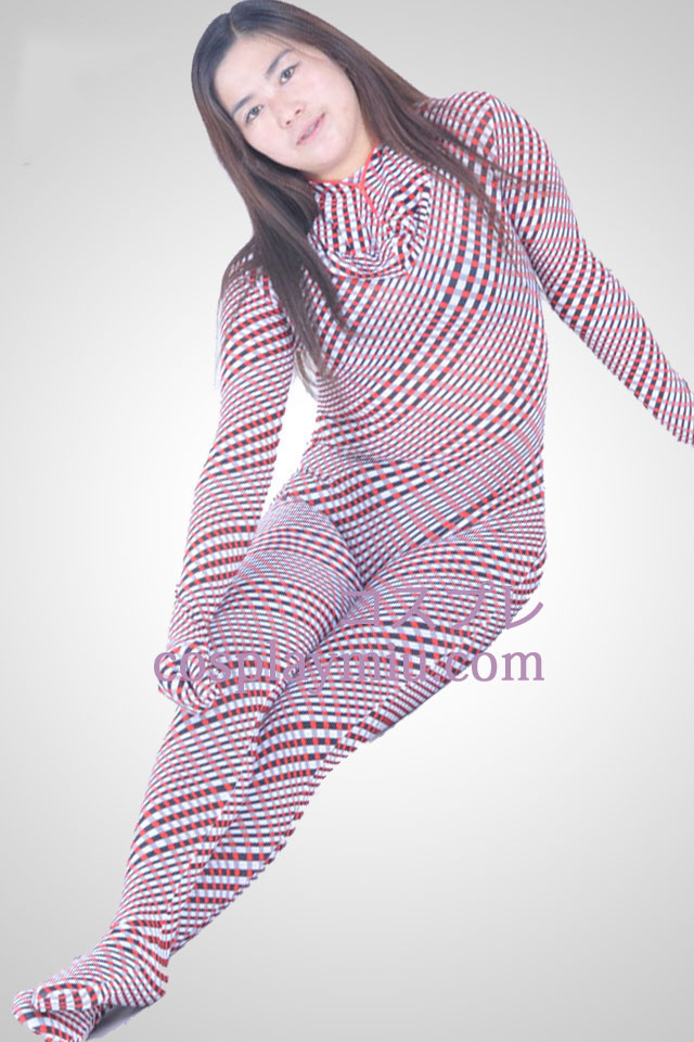 Multi-color Lycra Spandex Unisex Zentai Suit